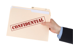 hand carry and confidential documents